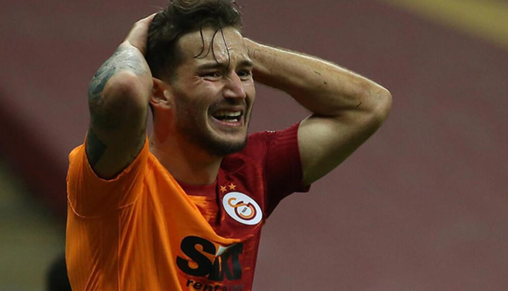 Galatasaraylı Oğulcan Çağlayan'a 6 maç men ve 1 milyon 200 bin euro para cezası
