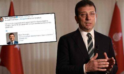 İBB Başkanı Ekrem İmamoğlu Telegram'da