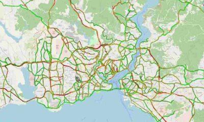 İstanbul trafiğinde yoğunluk yüzde 80'i aştı