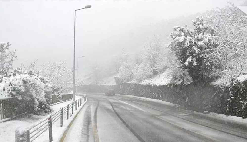 İstanbul'un 3 ilçesinde kar yağışı başladı