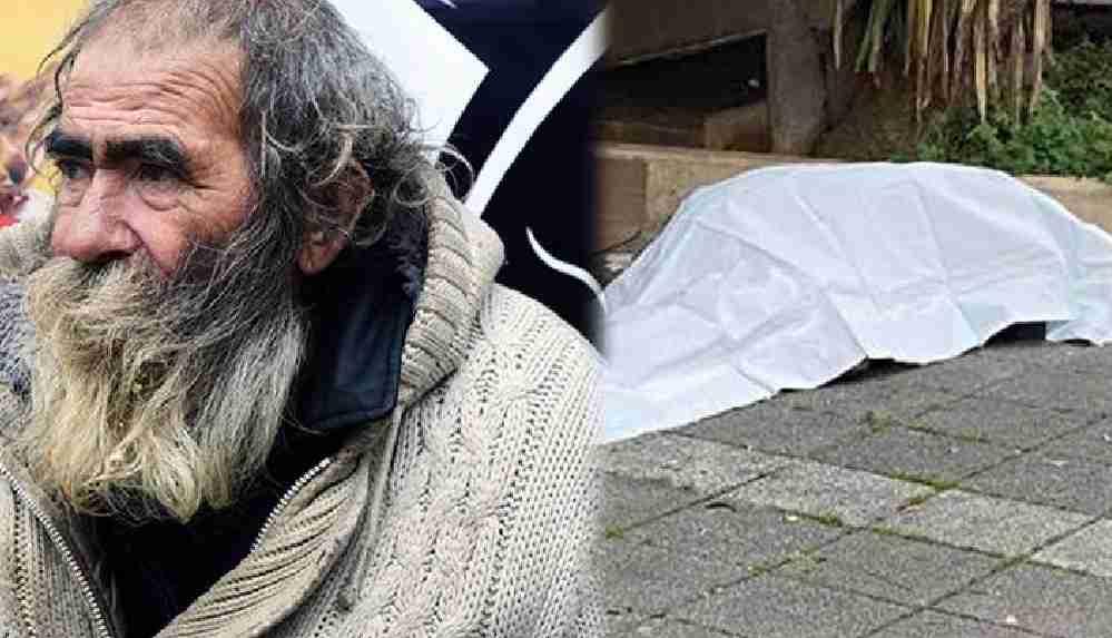 Kadıköy'de evsiz bir vatandaş ölü bulundu