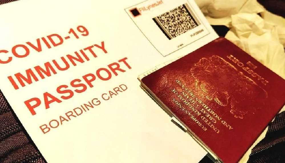 'Koronavirüs pasaportu' için çalışmalara başlandı
