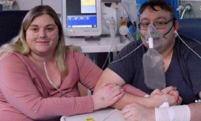 Koronavirüse yakalanan çift yoğun bakımda evlendi