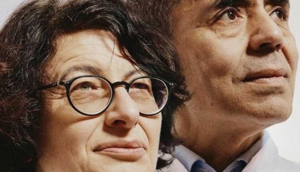 Özlem Türeci ve Uğur Şahin Almanya'nın büyük bilim ödülünün sahibi oldu