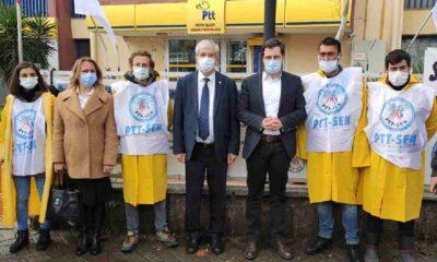 PTT işçileri eylemlerini Ankara'ya taşıyacak