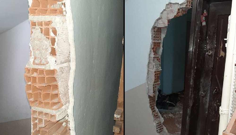 Polis, Boğaziçi öğrencisinin evine böyle girdi