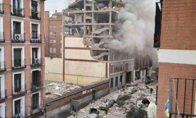Son Dakika... Madrid'de şiddetli patlama