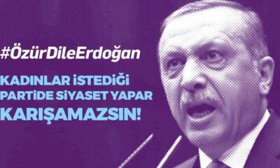 """Sosyal medyada """"Özür dile Erdoğan"""" kampanyası"""