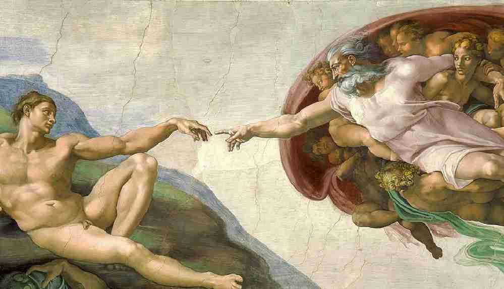 Sudan'da ders kitabındaki Michelangelo tablosu tartışma başlattı