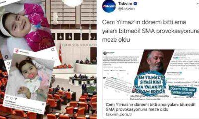 Takvim Gazetesi Cem Yılmaz'ı hedef gösterdi
