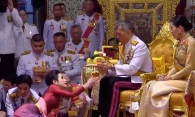 Tayland kraliyetinde kriz: Kraliçe 'resmi metres'e karşı