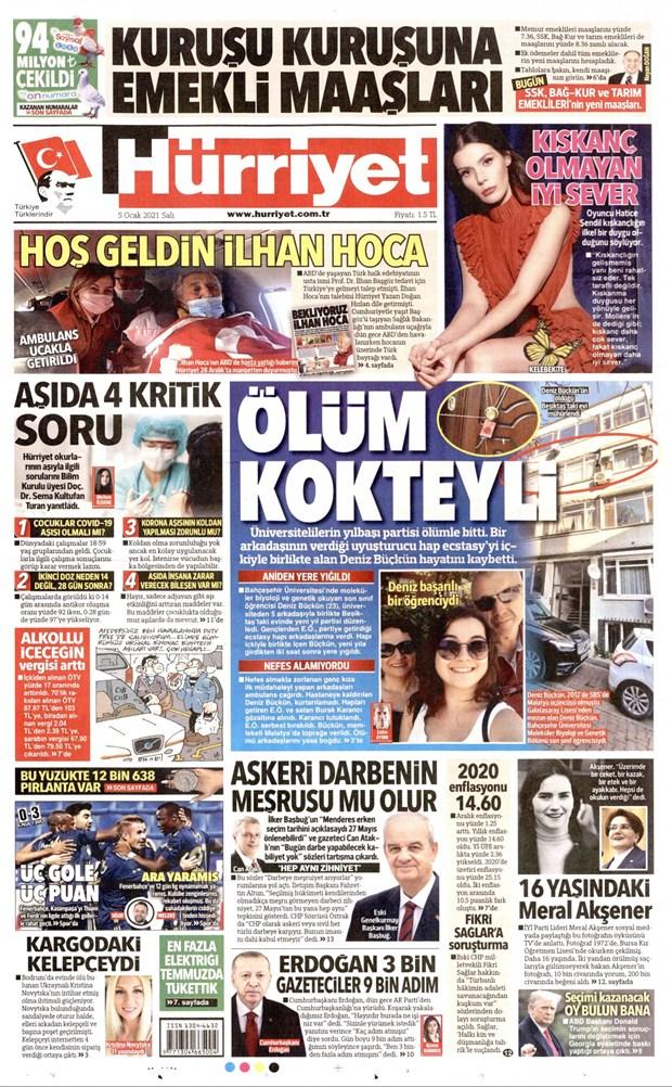 Üniversitelilerin yılbaşı partisini manşet yaptılar, Boğaziçi'ni görmediler