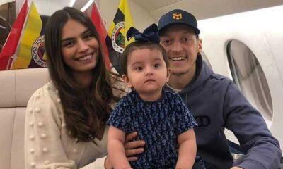 Fenerbahçe Mesut Özil'i özel uçakla İstanbul'a getiriyor. Özil ailesinin ilk fotoğrafları geldi...