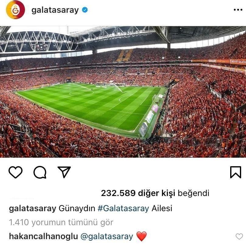 Hakan Çalhanoğlu'dan Galatasaray'a yanıt!