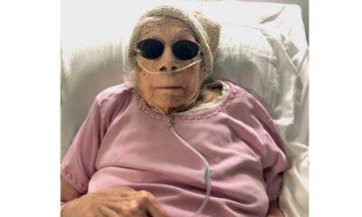 105 yaşındaki kadın cine yatırılmış kuru üzümle Covid-19 atlattı