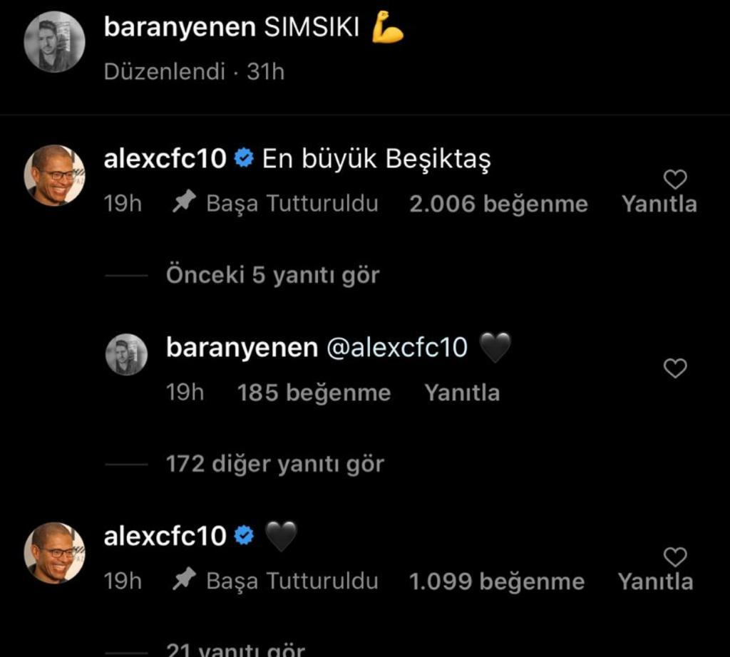 Alex De Souza: En büyük Beşiktaş!