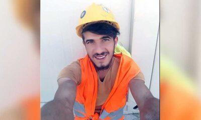 25 yaşındaki inşaat işçisi Ünal Çetinkaya yaşamına son verdi