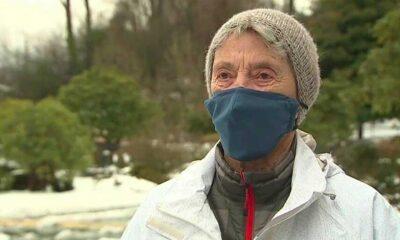 90 yaşındaki kadın Kovid-19 aşısı için kilometrelerce yürüdü