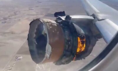 ABD'de United Havayolları uçağı motor arızası yüzünden acil iniş yaptı
