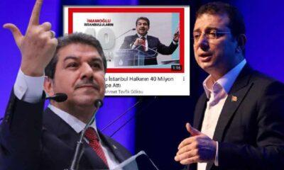 AKP'li Göksu, İmamoğlu'nu eleştirmek için Youtube'a reklam verdi