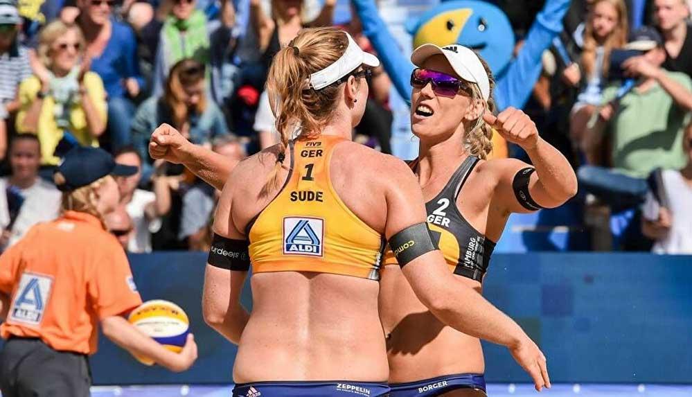 Alman plaj voleybolu yıldızları 'Turnuvayı boykot edeceğiz' dedi, Katar, bikini yasağından çark etti