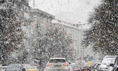 Ankara için kuvvetli kar ve buzlanma uyarısı