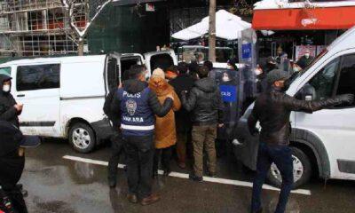 Ankara'da eylem yapmak isteyen kadınlara polis müdahalesi: 10 gözaltı