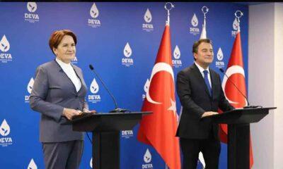 Babacan ve Akşener'den ortak basın toplantısı: 'Hükümetin 'haftanın düşmanları' panosu var'