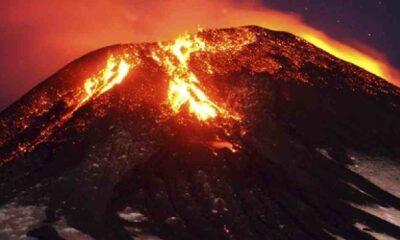 Bir haftada 6'ıncı patlama: Etna Yanardağı tekrar faaliyete geçti