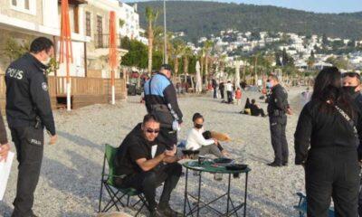 Bodrum'da, sahillerde 'piknik' yapmak yasaklandı