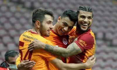 Büyükşehir Belediye Erzurumspor'u evinde yenen Galatasaray ligdeki galibiyet serisini 8 maça çıkardı