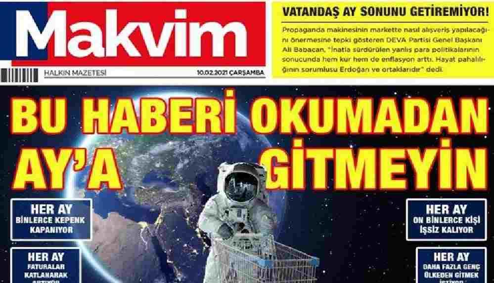 """Bu haberi okumadan uzaya gitmeyin"""