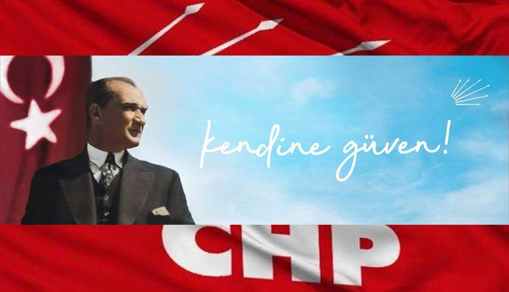 CHP'den yeni slogan: Kendine güven