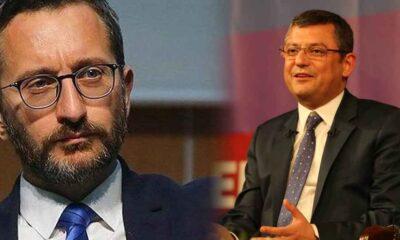 CHP'li Özel: 'Fahrettin Altun makas' döndü en son cumhurbaşkanını sansürledi