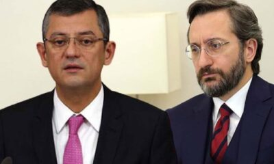 """CHP'li Özel'den İletişim Başkanı Fahrettin Altun'a: """"3 farklı maaş almayı biliyor, 2 farklı konuşma yazmaktan aciz"""""""