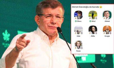 Clubhouse'a katılan ilk parti lideri Ahmet Davutoğlu oldu