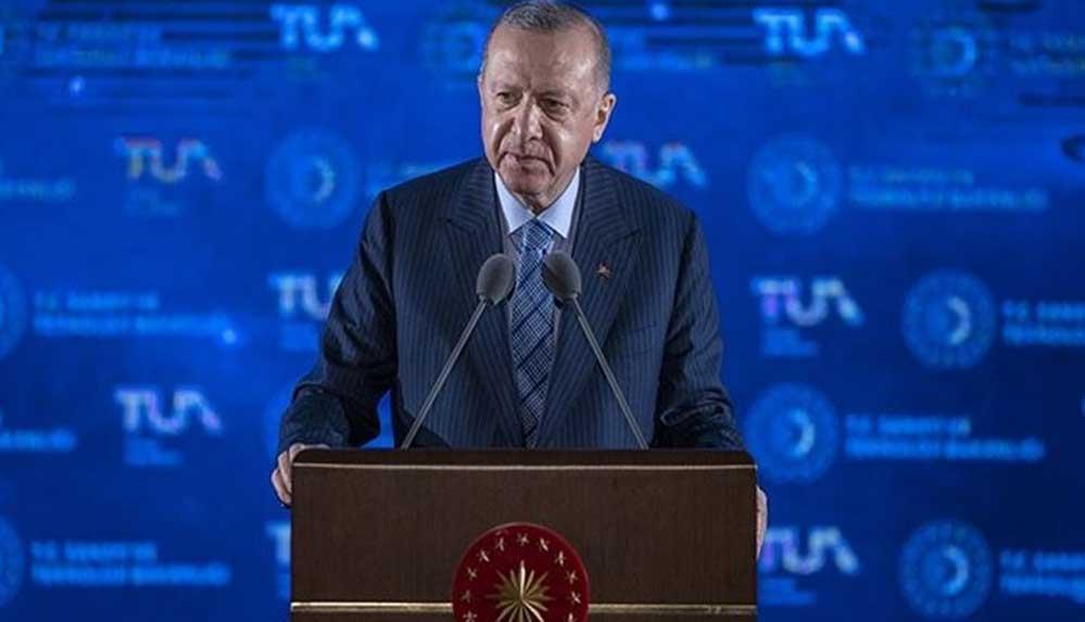 Cumhurbaşkanı Erdoğan, Türkiye'nin uzay programını açıkladı: İlk hedef 2023'te Ay'a gitmek
