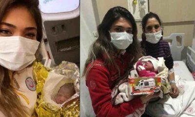 İzmir depreminde İnci'yi kurtardı, otobüste doğum yaptırdı