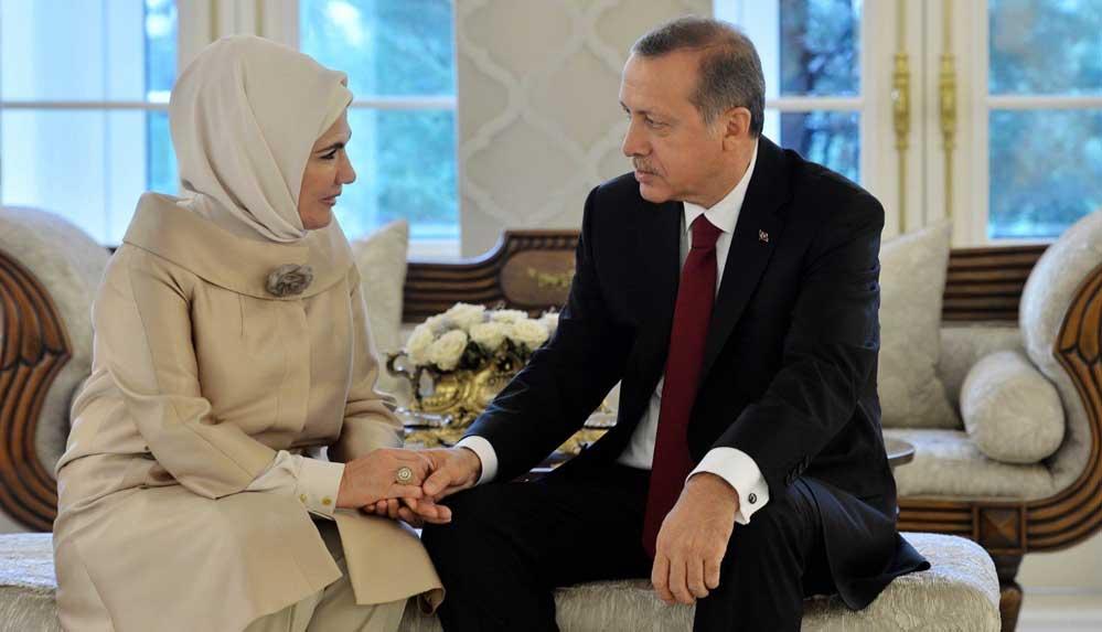 Emine Erdoğan, eşi Cumhurbaşkanı Erdoğan'ın doğum gününü kutladı