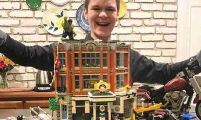 En hızlı lego rekorunu kırdı, Guinness Rekorlar Kitabı'na girdi
