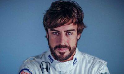 Fernando Alonso'ya bisiklete binerken otomobil çarptı