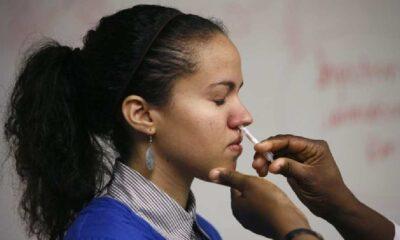 Finlandiya, salgını durduracağını öne sürdüğü 'iğnesiz aşı' geliştirdi