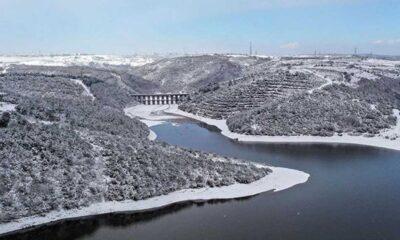 İstanbul'un baraj doluluk oranlarında 6 ay sonra bir ilk