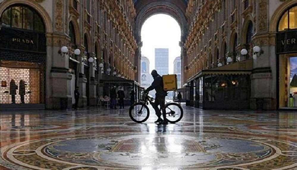 İtalya'da yemek siparişi hizmeti veren 4 şirkete 733 milyon euroluk ceza: 'Kuryeler köle değil'
