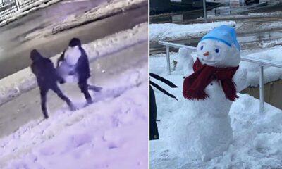İzmit'te 'kardan kadını' çaldılar: 'Kar her yerde var, yapabilirlerdi. Hala nedenini anlamadık'