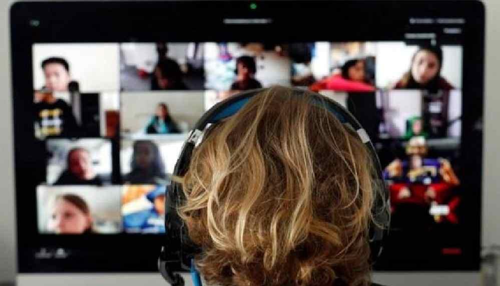 İlkokul video konferansındaki pornografik yayına soruşturma