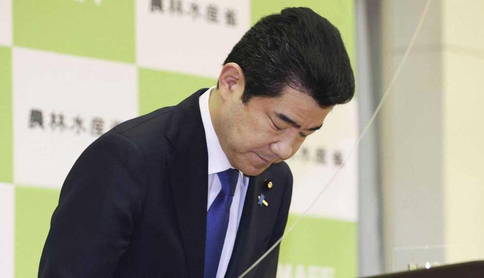Japonya'da hediye kabul eden 6 bürokrata ceza uygulandı, maaşını iade eden Bakan özür diledi