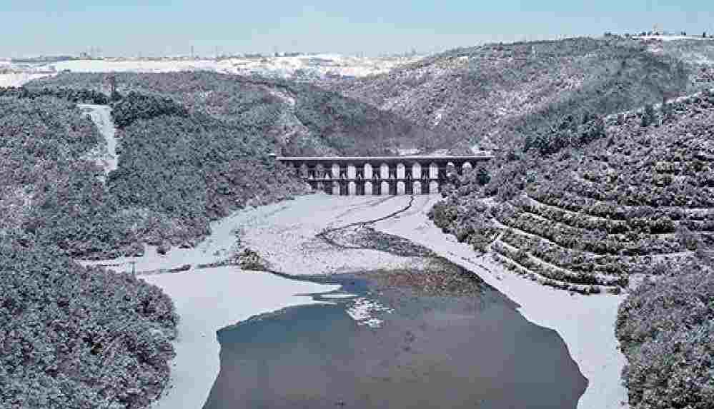 Kar yağışının ardından İstanbul'da barajların doluluk oranında artış