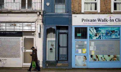 Londra'nın en dar evi satılığa çıktı: 1,6 metre genişliğinde