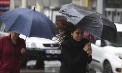 Meteoroloji'den il il sağanak ve fırtına uyarısı geldi